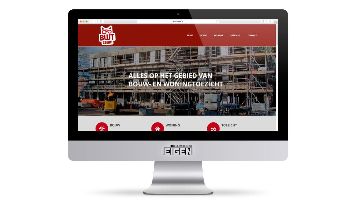 Bwt team buro bam oldenzaal reclamebureau eigen for Buro website